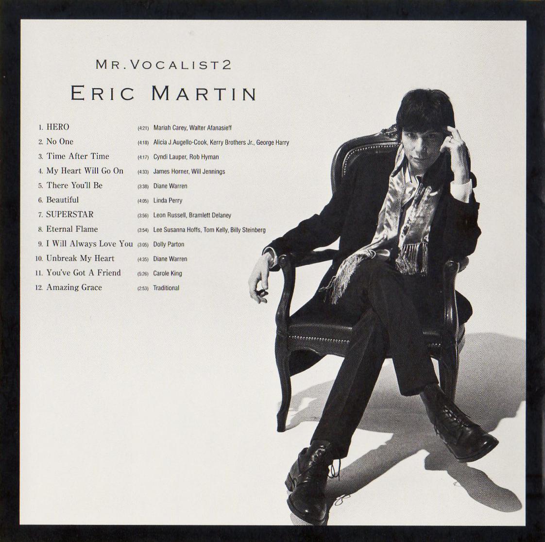 ♪≪国内盤帯付CD≫ERIC MARTIN(エリック・マーティン)/Mr.Vocalist2♪MR.BIG♪_画像6