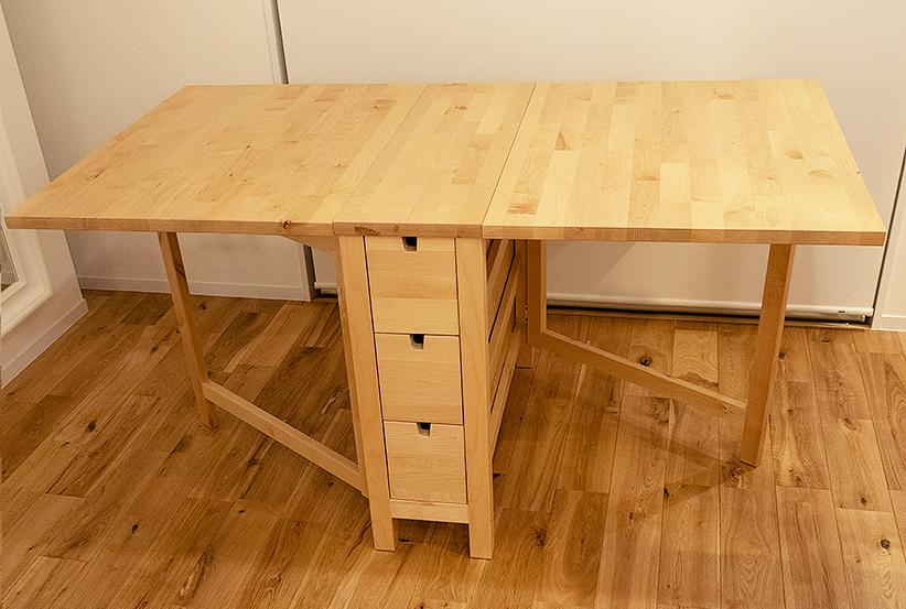 IKEA イケア NORDEN ノールデン ゲートレッグテーブル バーチ バタフライテーブル