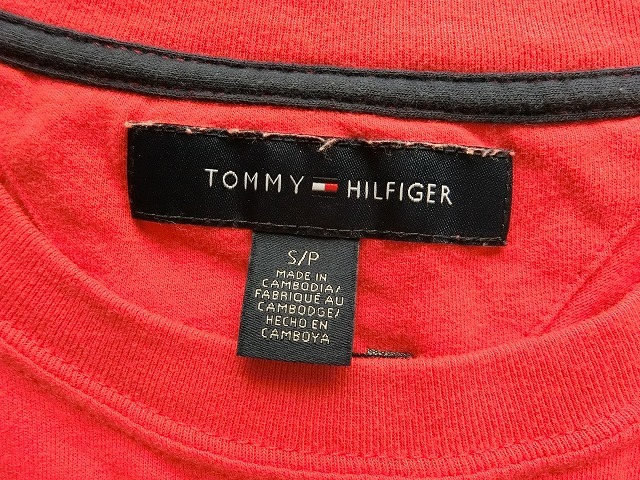 TOMMY HILFIGER トミーヒルフィガー Tシャツ S/P USED_画像3