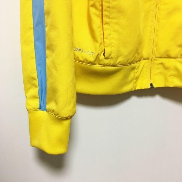 #NIKE × M.C.F.C.|ナイキ×マンチェスターシティ インナーメッシュイエロージャージ/トラックトップジャケット sizeS_画像6