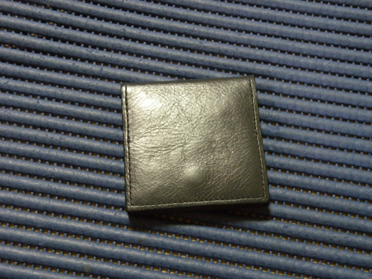 ◆S11◆ BUSINESS LEATHER FACTORY GENUINE LEATHER 小銭入れ 財布 コインケース 定形外郵便 クリックポスト
