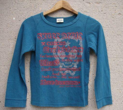 MINI-BA-TSU STUDIO バツ 長袖Tシャツ  150_画像1