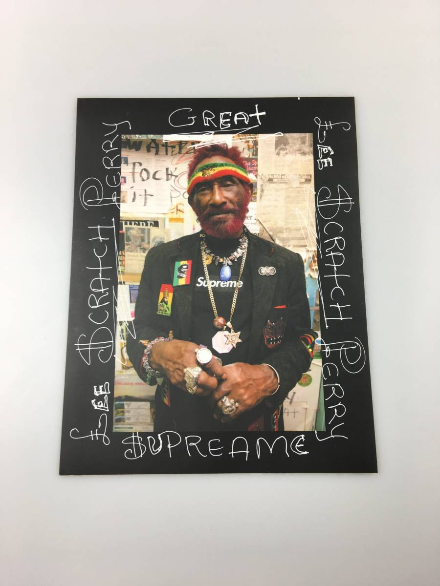 Supreme Lee Scract Perry Photo Sticker 黒 シュプリーム ステッカー_画像1
