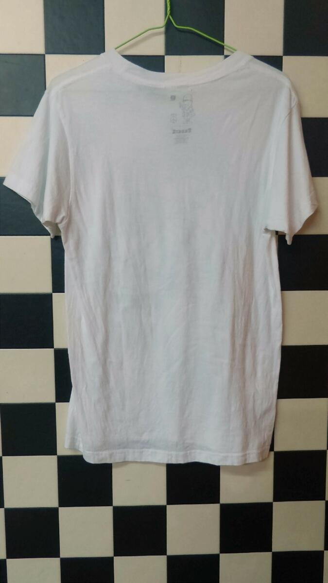 ストリートスタイルUS製FUCT FUCK WARロゴTシャツ
