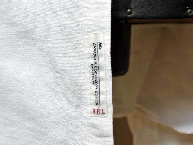 新品・国内価格より15%OFF【RRL&CO./ダブルアールエル】セルヴィッチ・コットン・オックスフォードシャツ/white/S_画像9