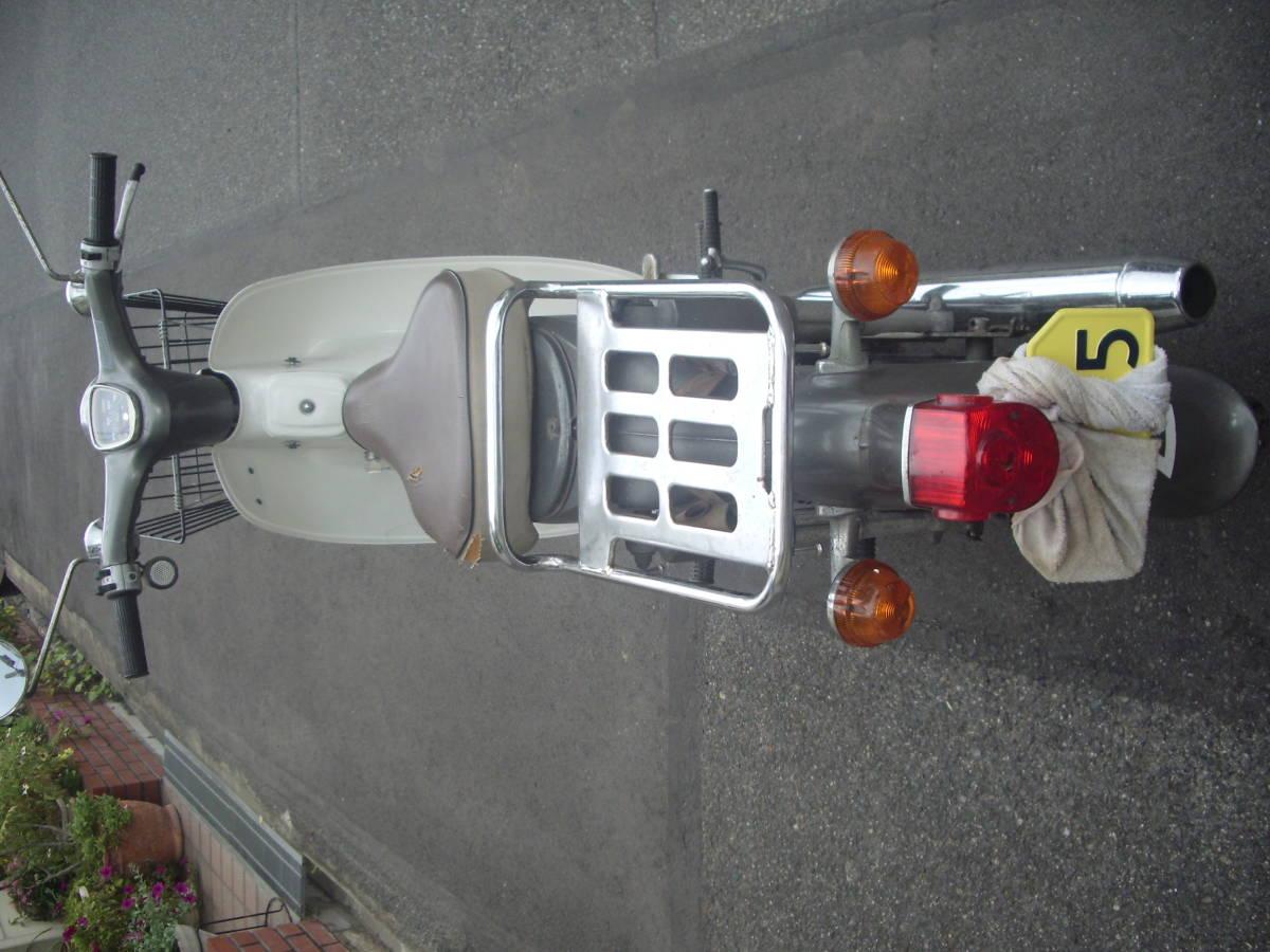 福山発 ホンダ旧車 カブ70 かもめC70 実働6v車 走行 12334km _画像10