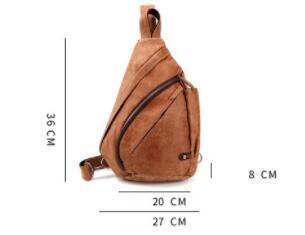新品 ボディバッグ メンズバッグ 本革 牛革 斜め掛け 肩掛け 小物入れ 鞄 自転車 アウトドア レザー ブラウン
