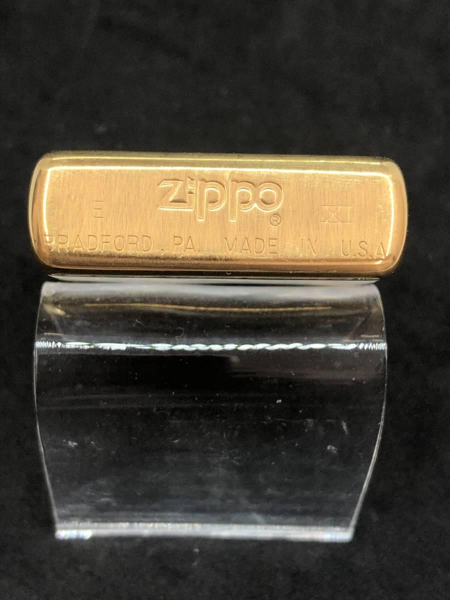 レア 未使用 展示品 Zippo ビンテージ コレクター保管品 ゴールド インディアン_画像4