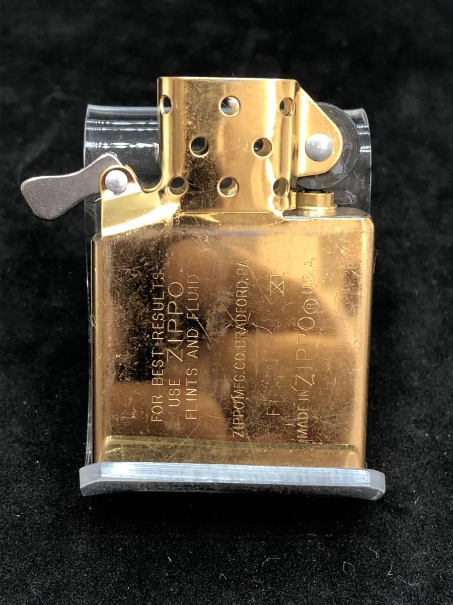 レア 未使用 展示品 Zippo ビンテージ コレクター保管品 ゴールド インディアン_画像5