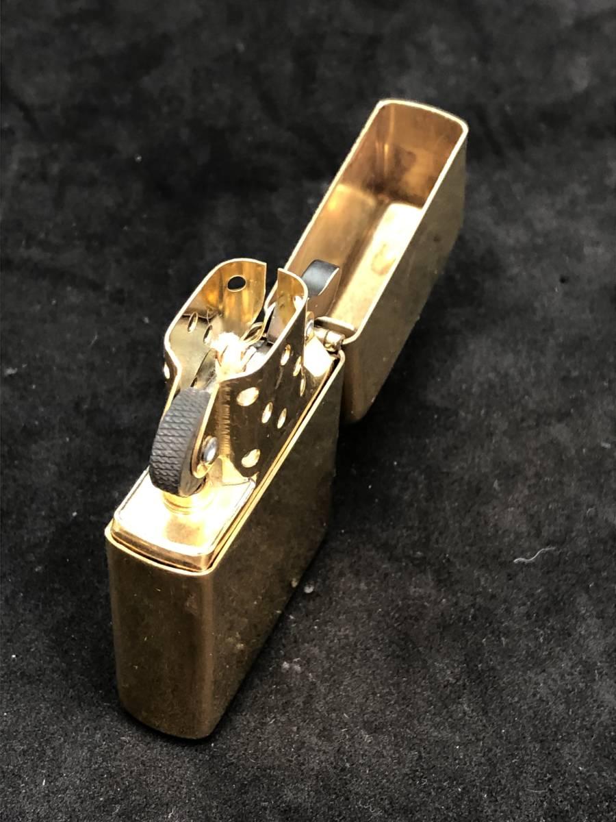 レア 未使用 展示品 Zippo ビンテージ コレクター保管品 ゴールド インディアン_画像2