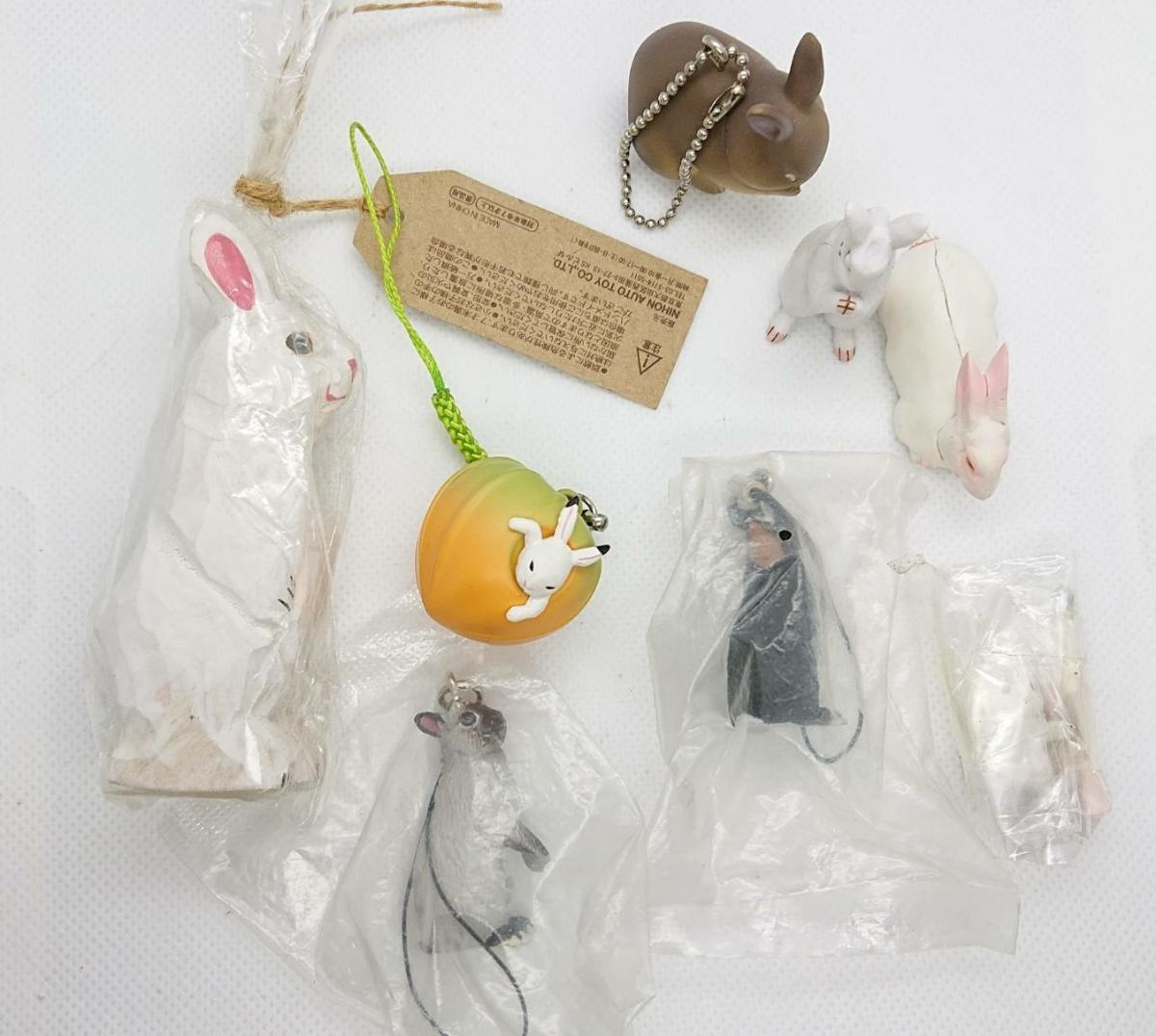 ウサギ フィギュアセット_画像1