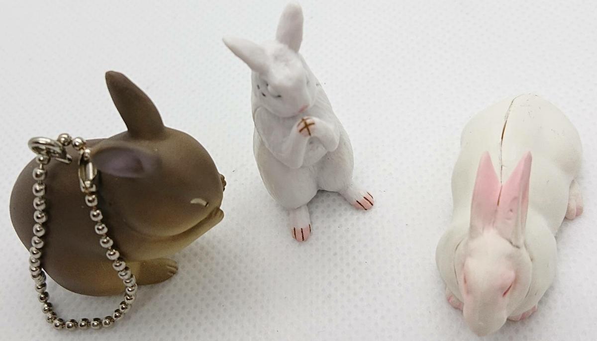 ウサギ フィギュアセット_画像2