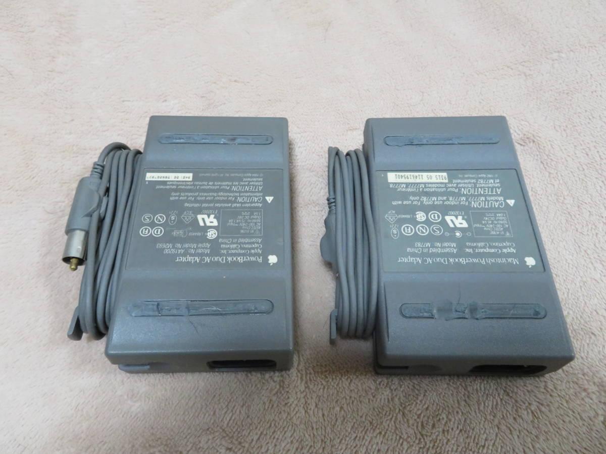 MAC PowerBook用 No-M2693 + M7783 電源ユニットX2個_画像2
