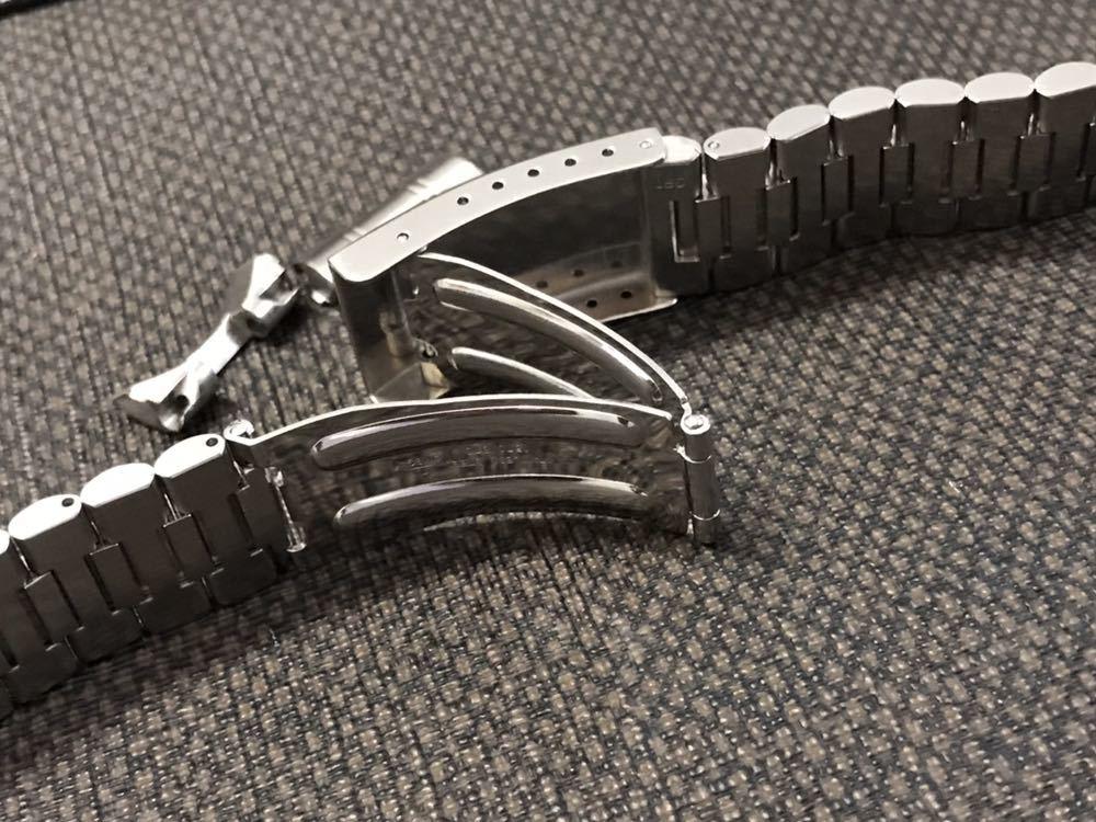 オメガ ステンレスベルト 1570/870 ラグ幅19mm 全長16cm OMEGA stainless steel bracelet 30-1_画像7