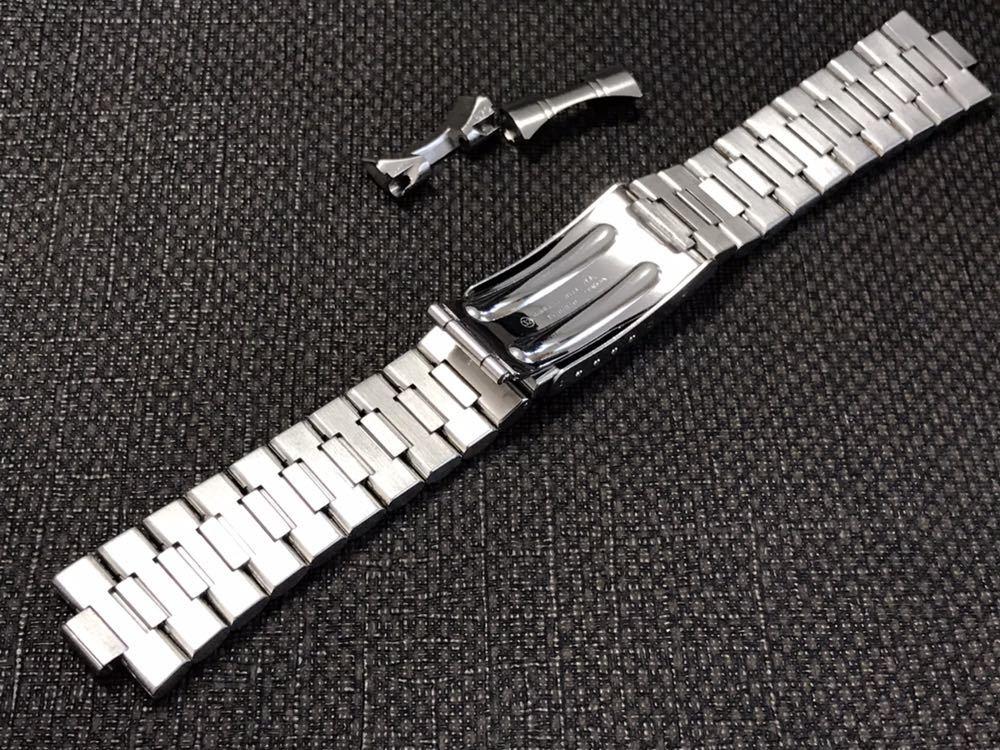 オメガ ステンレスベルト 1570/870 ラグ幅19mm 全長16cm OMEGA stainless steel bracelet 30-1_画像6