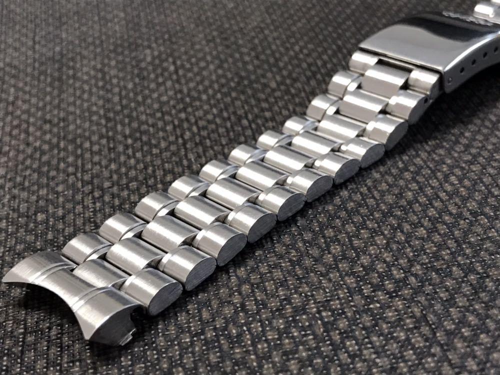 オメガ ステンレスベルト 1570/870 ラグ幅19mm 全長16cm OMEGA stainless steel bracelet 30-1_画像4