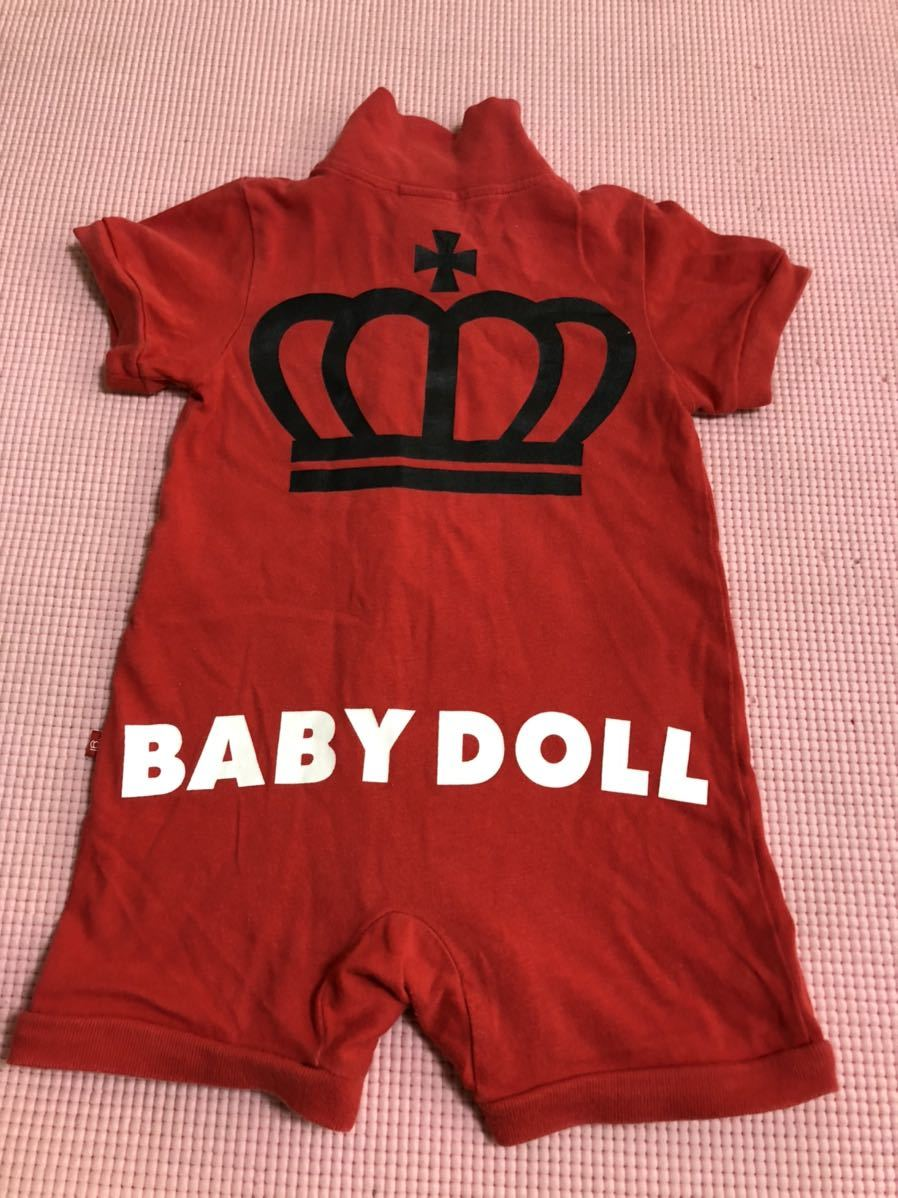 Baby doll short-sleeved coveralls 70 centimeters short sleeve romper short All Children's baby clothes jumpsuit BABYDOLL