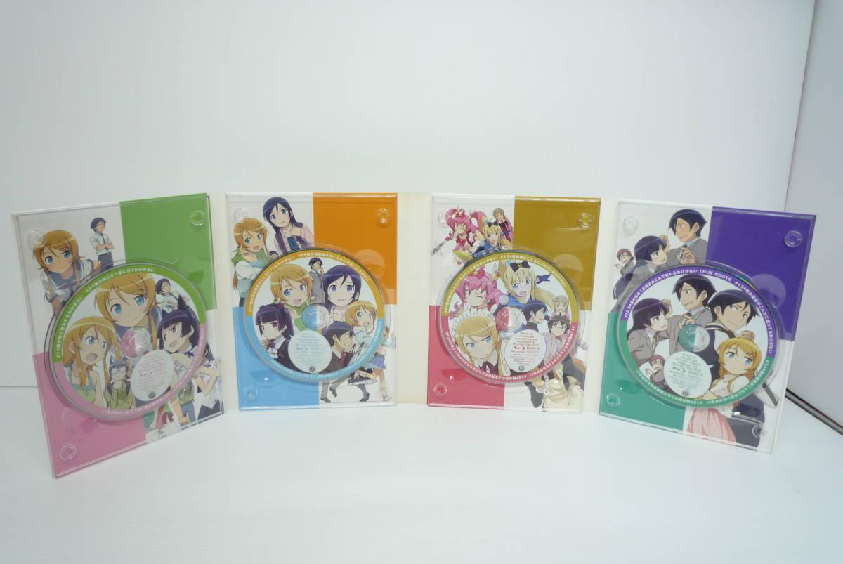【開封品】俺の妹がこんなに可愛いわけがない Blu-ray Disc BOX[完全生産限定版]【ケース中央カード変色、ケーススリーブケース擦れ有】_画像4