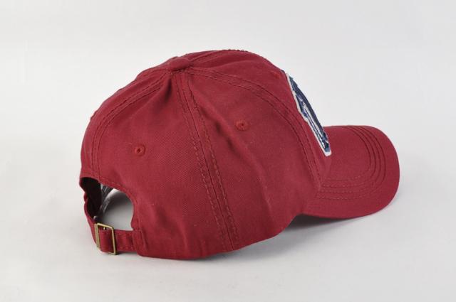 野球帽 スナップバックN02ワインレッド 星条旗USAロゴ キャップ ヴィンテージ風 ワッペン 刺繍 薄手 男女兼用 帽子 メンズ レディース 新品_画像3