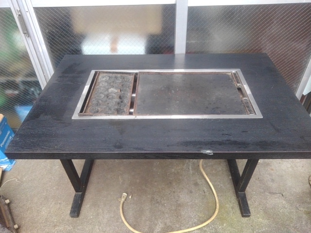 業務用 都市ガス 鉄板焼き お好み焼き 焼きそば 厨房機器 家族用 引き取り歓迎!_画像1