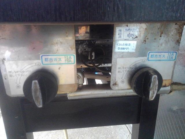 業務用 都市ガス 鉄板焼き お好み焼き 焼きそば 厨房機器 家族用 引き取り歓迎!_画像6