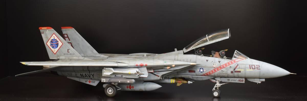 模型誌掲載作例 タミヤ1/32 F-14B 完成品
