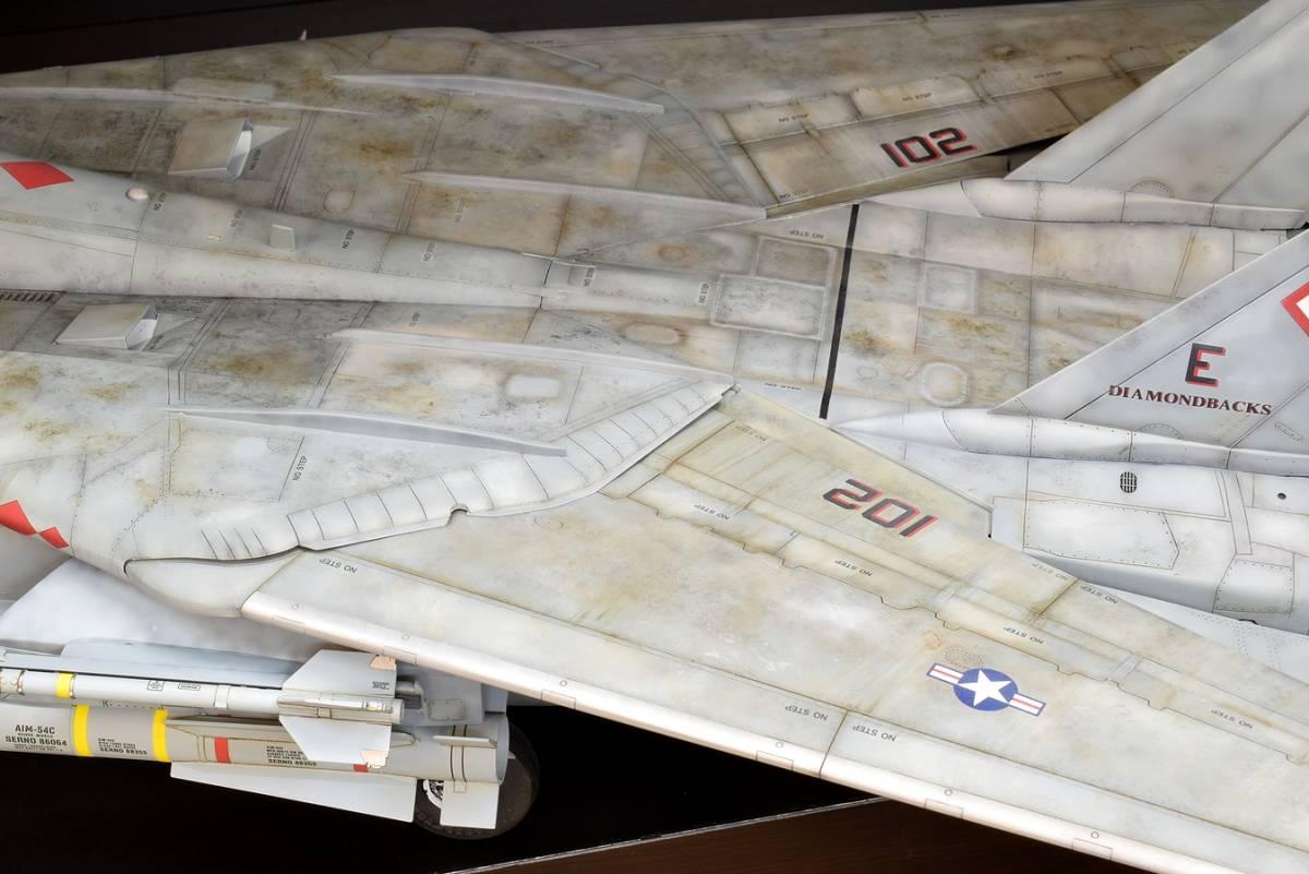 模型誌掲載作例 タミヤ1/32 F-14B 完成品_画像4