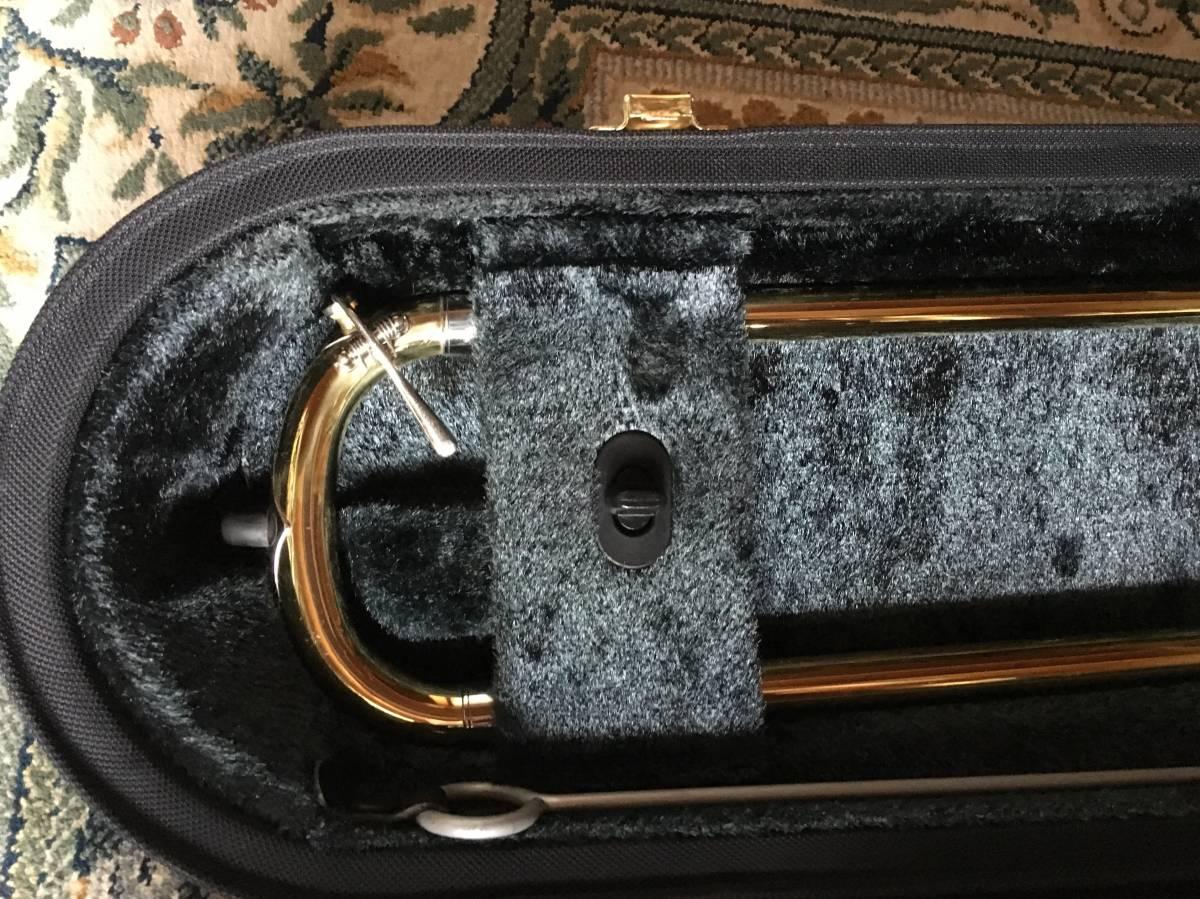 ◇◇BACH◇◇美品 Vincent BACH Stradivarius 42G ヴィンセント・バック テナー トロンボーン ゴールドラッカー 純正ケース付 現状お渡し品_画像5