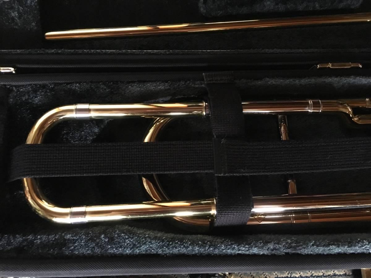 ◇◇BACH◇◇美品 Vincent BACH Stradivarius 42G ヴィンセント・バック テナー トロンボーン ゴールドラッカー 純正ケース付 現状お渡し品_画像2