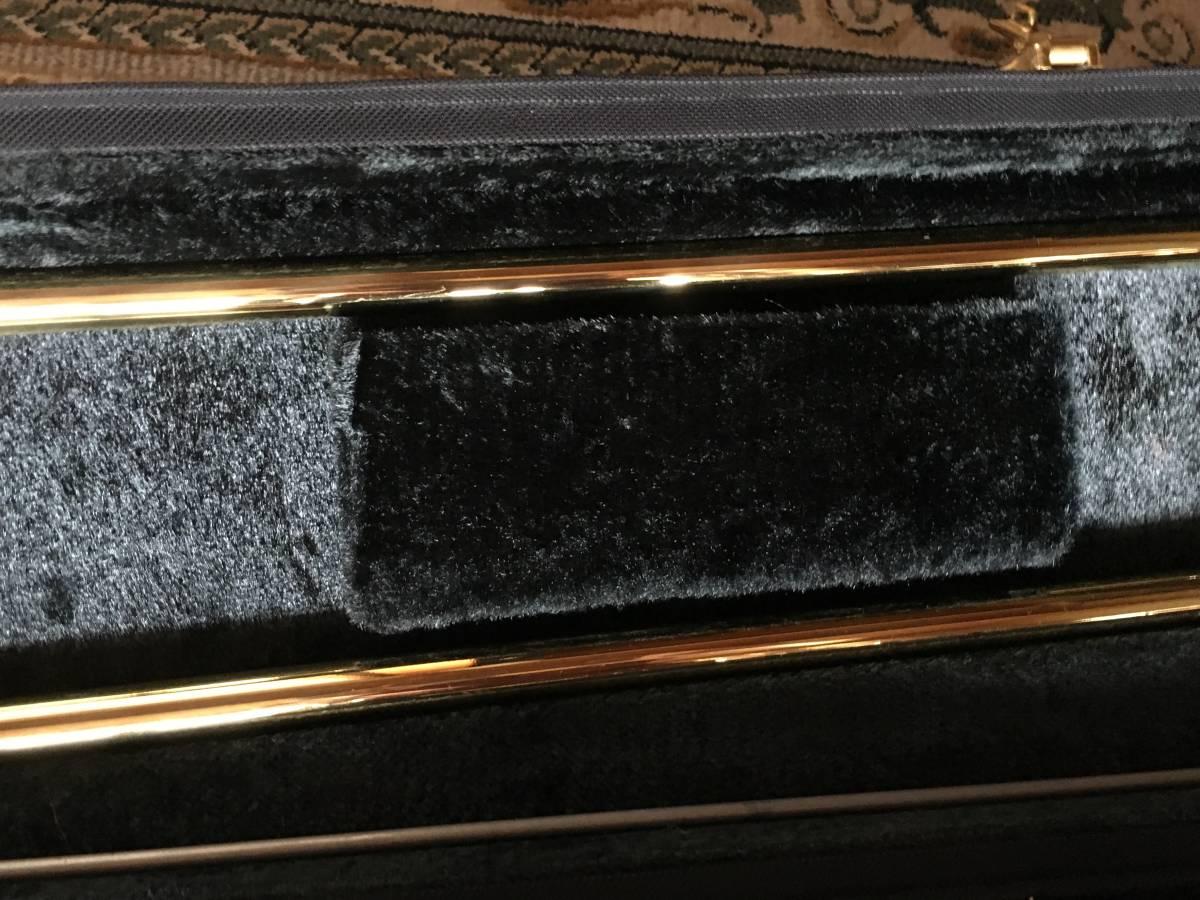 ◇◇BACH◇◇美品 Vincent BACH Stradivarius 42G ヴィンセント・バック テナー トロンボーン ゴールドラッカー 純正ケース付 現状お渡し品_画像6