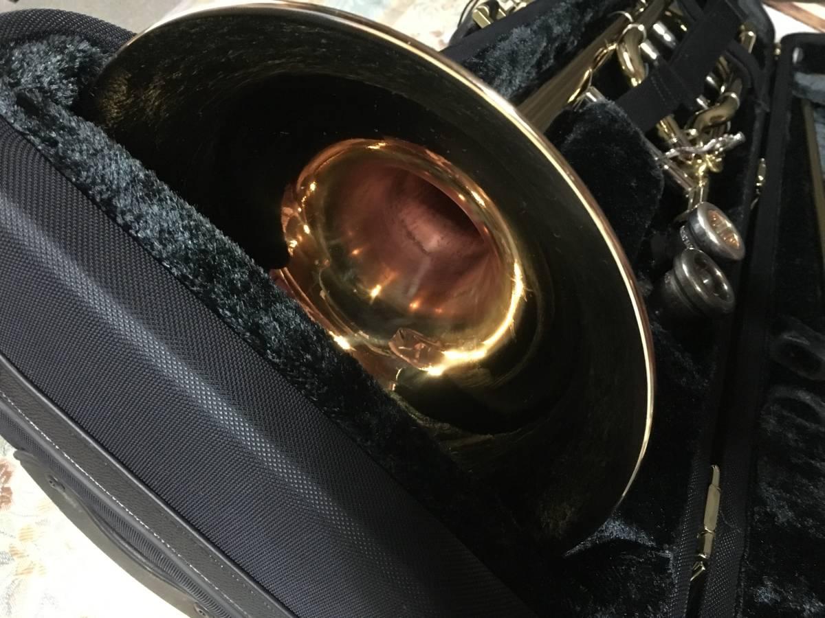 ◇◇BACH◇◇美品 Vincent BACH Stradivarius 42G ヴィンセント・バック テナー トロンボーン ゴールドラッカー 純正ケース付 現状お渡し品_画像9