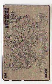 5-t859 麻宮騎亜 サイレントメビウス 回顧展 テレカ_画像1