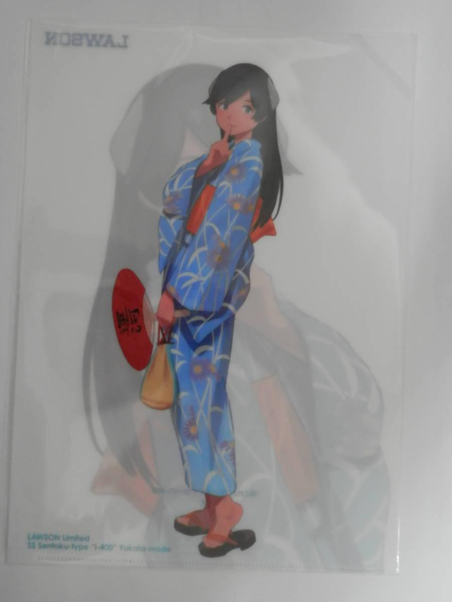 「艦これ」運営鎮守府謹製ローソン限定 艦娘【浴衣mode】2019クリアファイル全3種_画像3