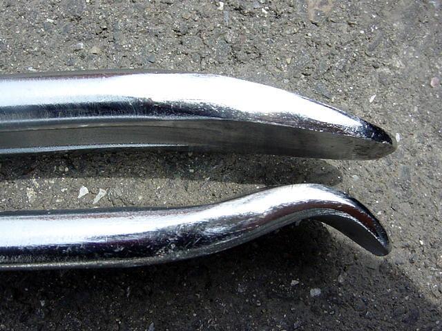 【総額最安値】タイヤレバー タイヤ交換 ロング 28インチ ビードクリーム 70㎝  ビード落とし タイヤチェンジャー ハゼットタイプ_画像3
