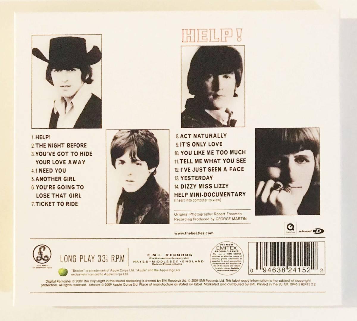 【スマートレター発送限定】The Beatles ザ・ビートルズ「Help!」輸入盤 STEREO 紙ジャケCD 2009リマスター_画像2