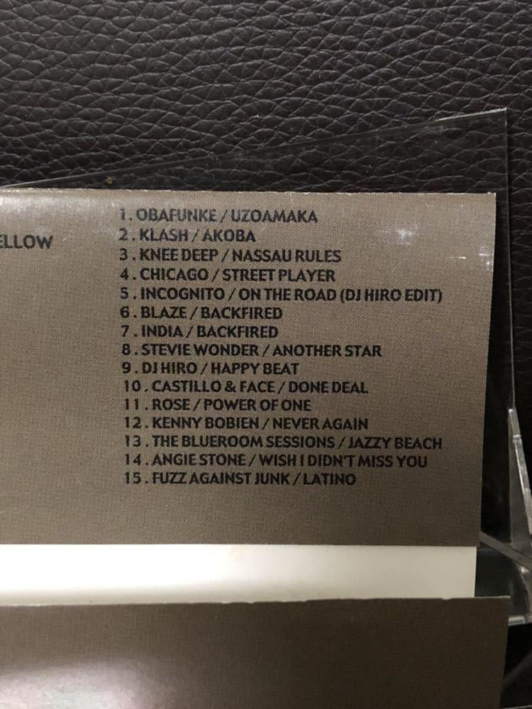 CD付 MIXTAPE DJ HIRO SOUND OF URBAN LOUNGE BLACK MAGIC MURO KIYO KOCO 須永辰緒 鈴木雅尭 小林径_画像3