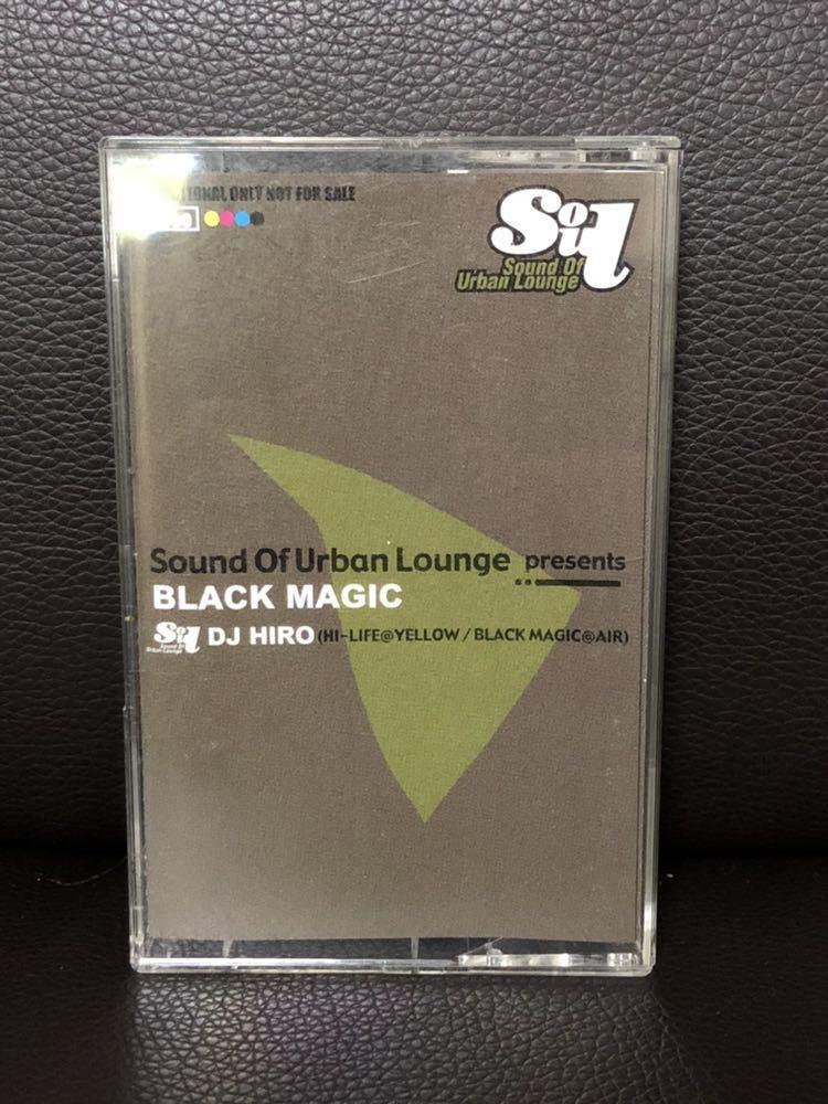 CD付 MIXTAPE DJ HIRO SOUND OF URBAN LOUNGE BLACK MAGIC MURO KIYO KOCO 須永辰緒 鈴木雅尭 小林径_画像1