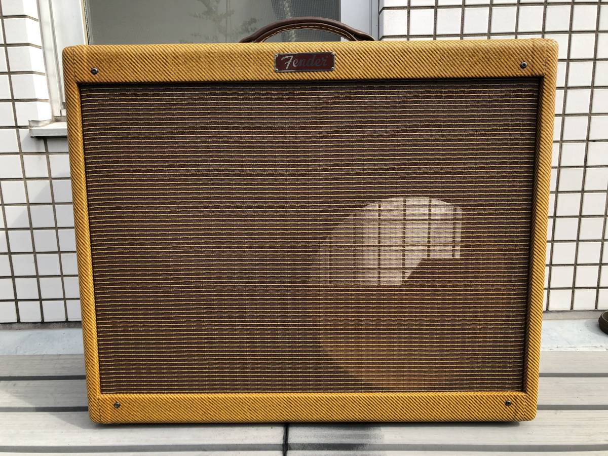 5E3ツイードデラックス用 2x12キャビネット ツイードツイン型 Tweed Twin cabinet with 5E3 chassis cut-out