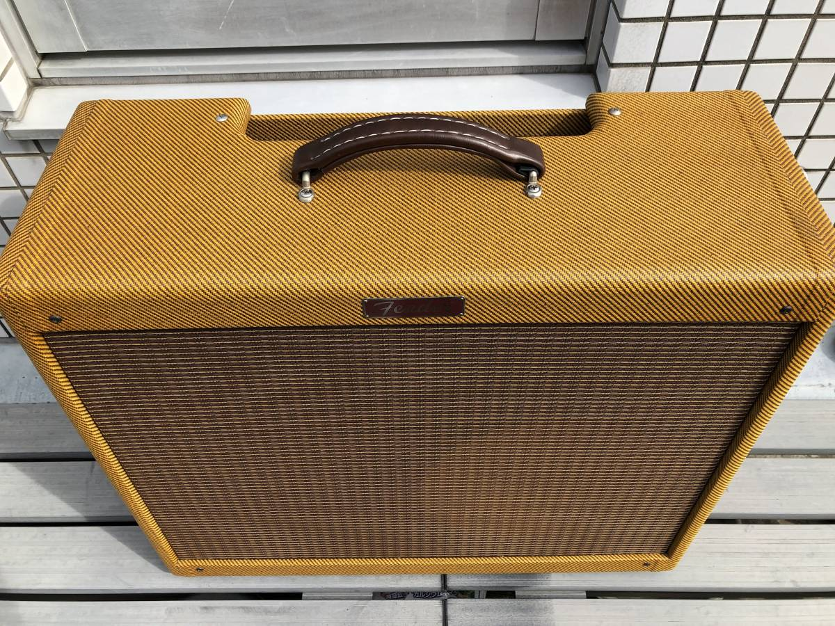 5E3ツイードデラックス用 2x12キャビネット ツイードツイン型 Tweed Twin cabinet with 5E3 chassis cut-out_画像5