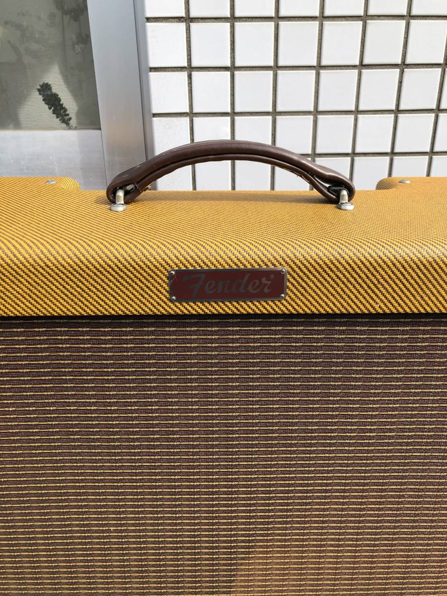 5E3ツイードデラックス用 2x12キャビネット ツイードツイン型 Tweed Twin cabinet with 5E3 chassis cut-out_画像7
