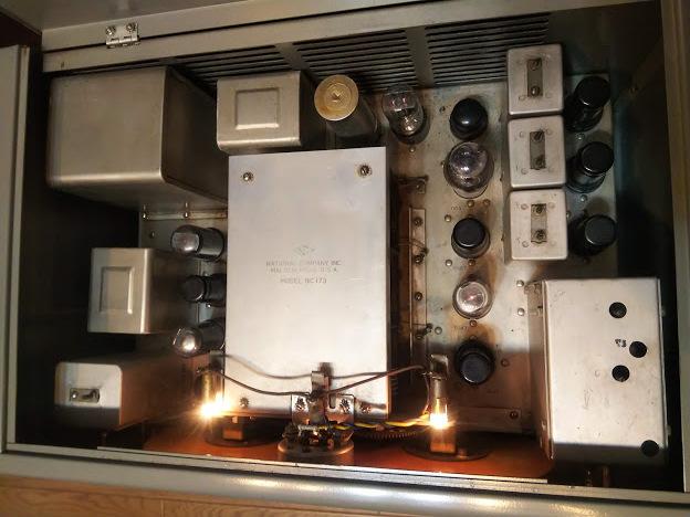 米国ナショナル 通信型受信機 NC-173 National レシーバー ラジオ アマチュア無線 BCL_画像5