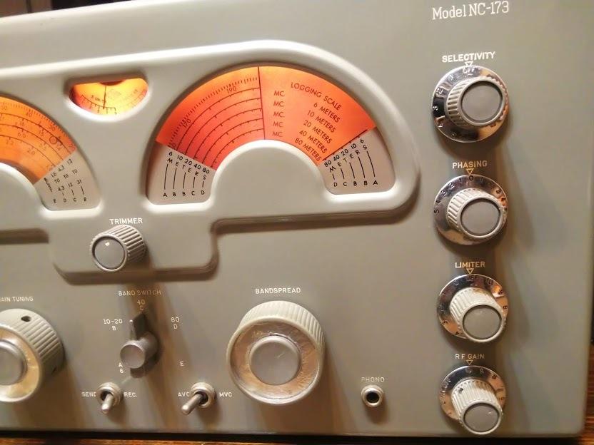 米国ナショナル 通信型受信機 NC-173 National レシーバー ラジオ アマチュア無線 BCL_画像9