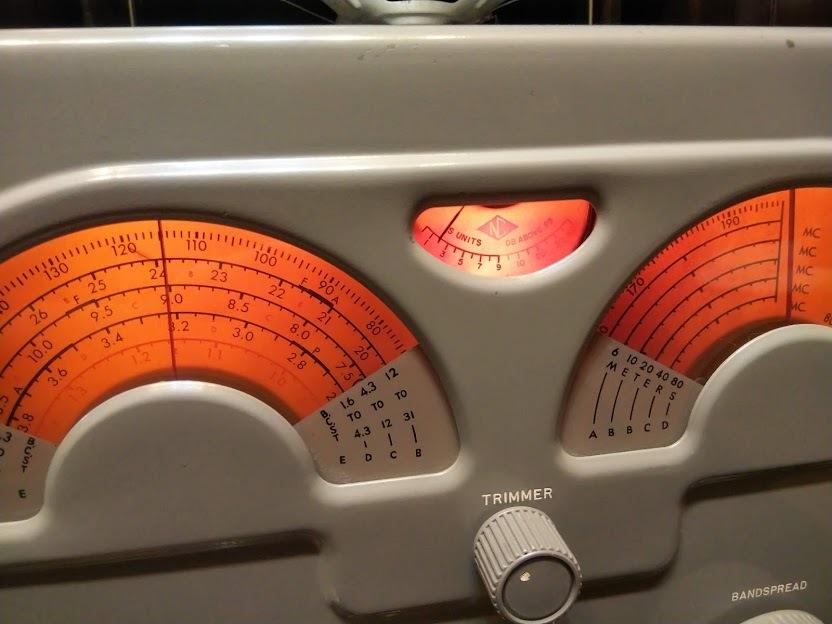 米国ナショナル 通信型受信機 NC-173 National レシーバー ラジオ アマチュア無線 BCL_画像10