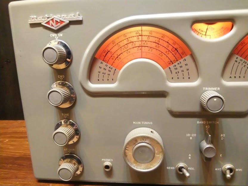 米国ナショナル 通信型受信機 NC-173 National レシーバー ラジオ アマチュア無線 BCL_画像8