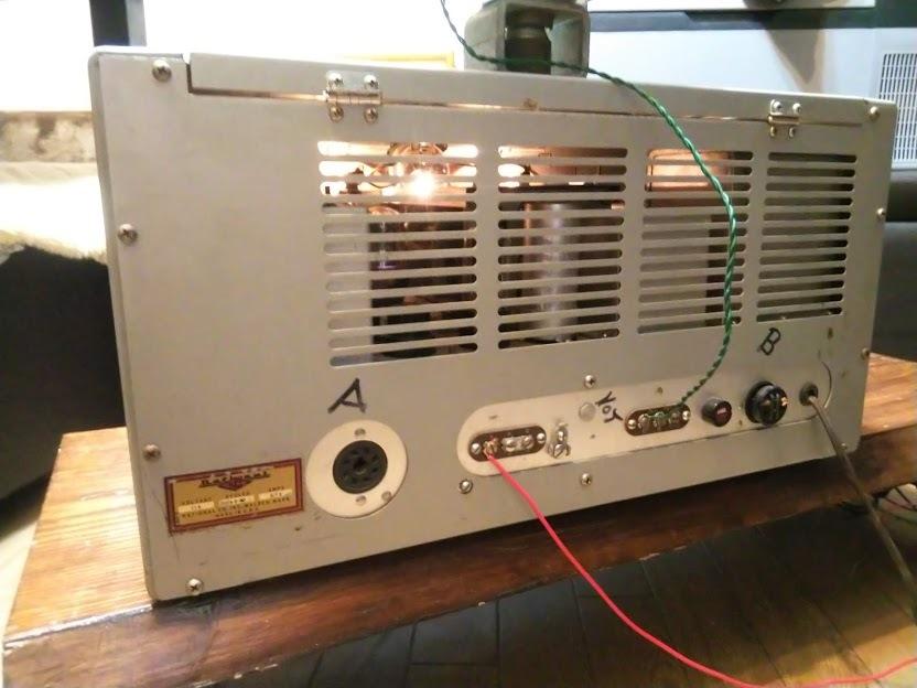 米国ナショナル 通信型受信機 NC-173 National レシーバー ラジオ アマチュア無線 BCL_画像6