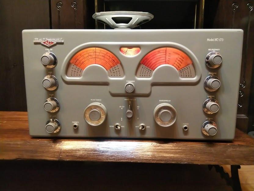 米国ナショナル 通信型受信機 NC-173 National レシーバー ラジオ アマチュア無線 BCL_画像2