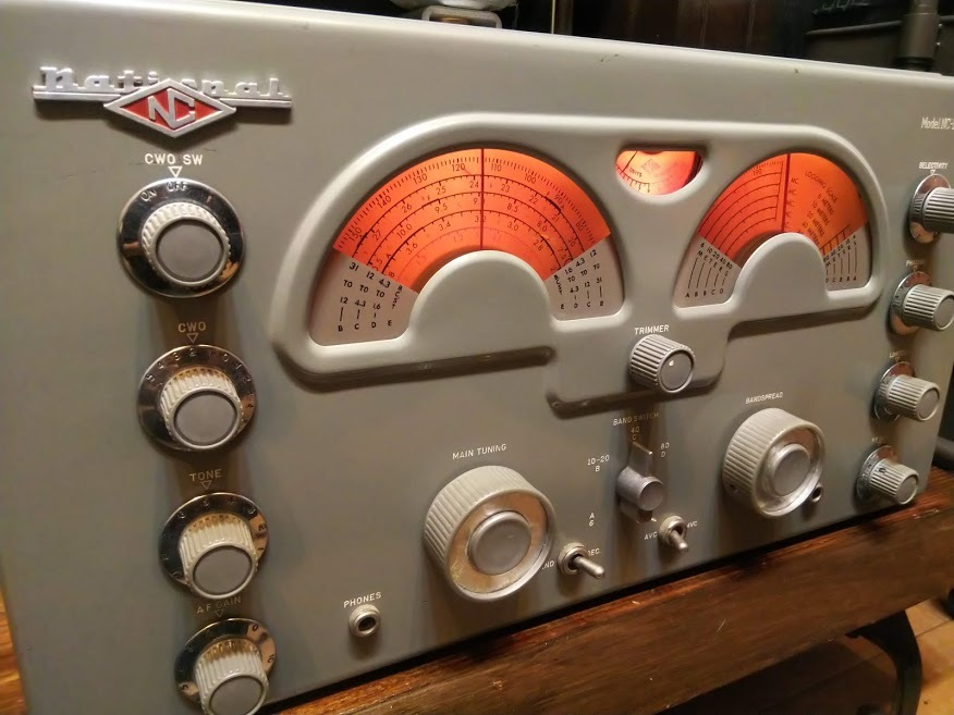 米国ナショナル 通信型受信機 NC-173 National レシーバー ラジオ アマチュア無線 BCL_画像1