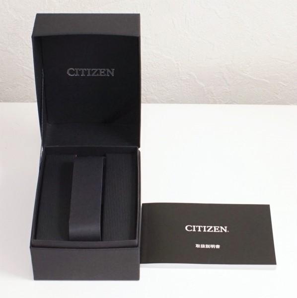 CITIZEN シチズン アテッサ エコドライブ CA4390-55E チタン メンズ 美品_画像4