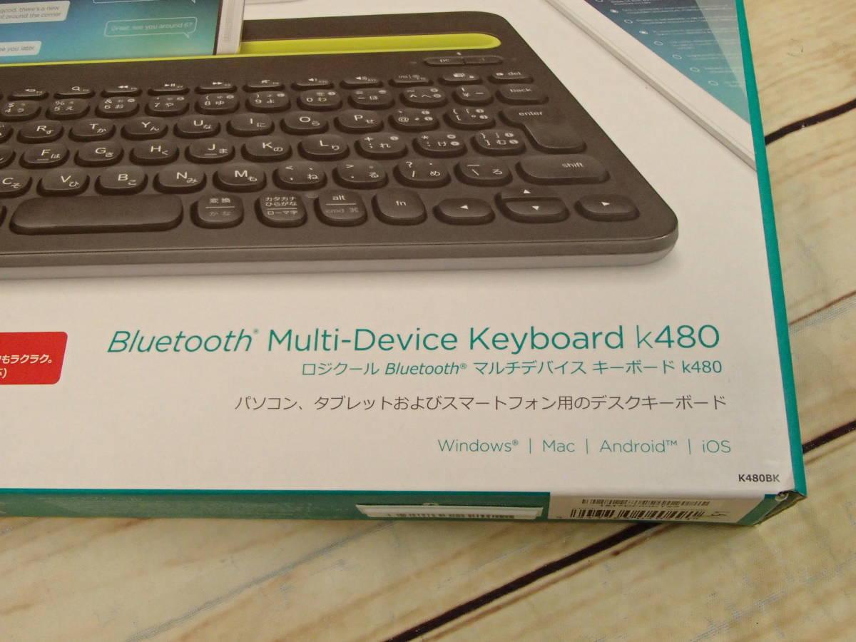 ●Logicool ロジクール K480 BLUETOOTH マルチデバイスキーボード K480BK 3台のBluetooth対応デバイスを簡単に切り替え●_画像7