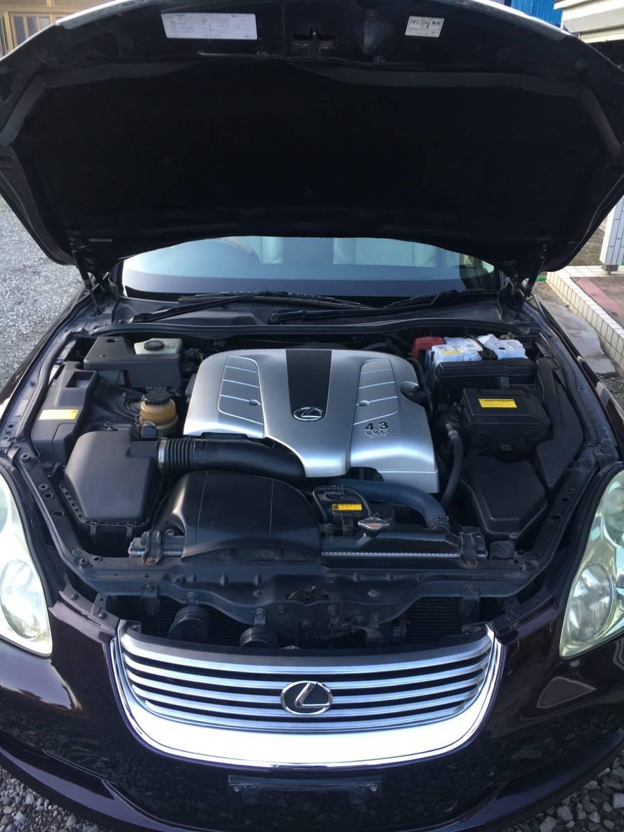 「フルレクサスsc430仕様 カスタム多数 フルストレート爆音オープン 40ソアラ UZZ40 20インチ WALDフルエアロ TEIN車高調」の画像3